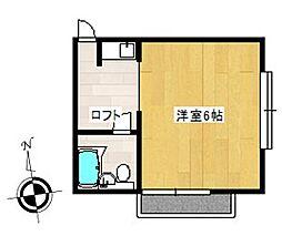 ピュアハウス塚田[2階]の間取り
