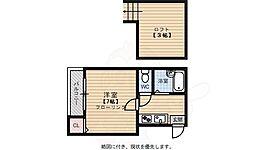 唐人町駅 3.4万円