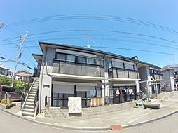兵庫県宝塚市仁川宮西町の賃貸アパートの外観
