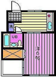 プリエールマンション[2-C号室]の間取り