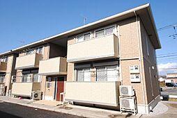 埼玉県川口市石神の賃貸アパートの外観
