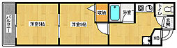 京都府京都市下京区綾材木町の賃貸マンションの間取り