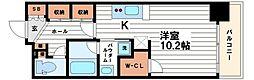 レジェンドール心斎橋EAST[11階]の間取り