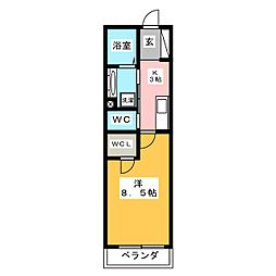 新築オーレット クラシカ[2階]の間取り