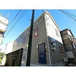 東京都大田区下丸子1丁目の賃貸アパートの外観