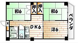 メゾン守恒II[3階]の間取り