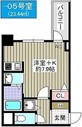 スワンズシティ大阪WEST[6階]の間取り