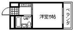 泉州昭和ビル[303号室]の間取り