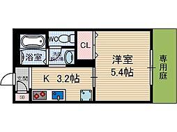 プランドール春日[2階]の間取り