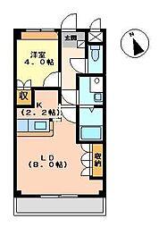 アーバンヴィレッジ[A201号室]の間取り