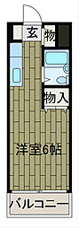 コスモス町田C棟[3階]の間取り