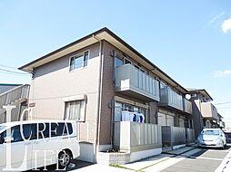 埼玉県戸田市美女木4丁目の賃貸アパートの外観