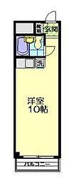 T's garden永山[305号室]の間取り