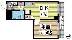 メゾン・ド・エミュウ[1階]の間取り