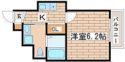 アクシア須磨浦[103号室]の間取り