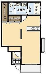 マイハウスIII[102号室]の間取り