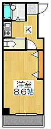 TAISEI都[105号室]の間取り