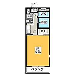 知立ガーデンパレス[3階]の間取り
