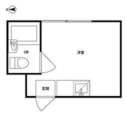 井荻パークハイツ[2階]の間取り