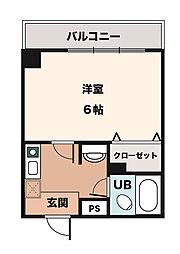 ニュープレジデント藤澤[3階]の間取り