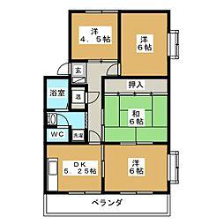アメニティA&A[2階]の間取り