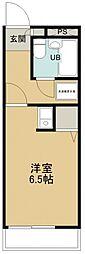 所沢メゾン3号館[406号室号室]の間取り