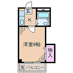 メゾンエトワーレ[3階]の間取り