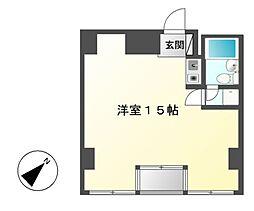 フィールドシティ新栄第1[2階]の間取り