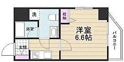 京成押上線 京成立石駅 徒歩10分の賃貸マンション 11階1Kの間取り