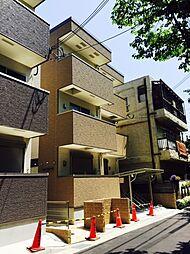 兵庫県尼崎市北城内の賃貸アパートの外観