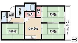 新川橋駅 4.8万円