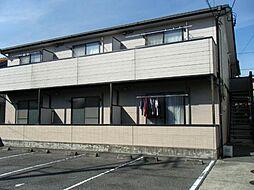 愛知県あま市甚目寺郷浦の賃貸アパートの外観