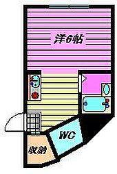 Flat Tamura[1階]の間取り