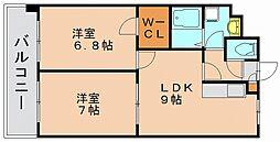 第17川崎ビル[9階]の間取り