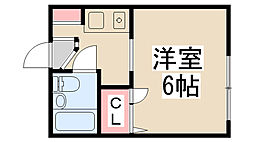 メゾン木村[305号室]の間取り