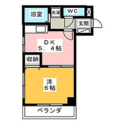 YS元町[3階]の間取り