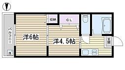 正太駒込マンション[902号室]の間取り