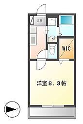 カーサ本宮新町[2階]の間取り