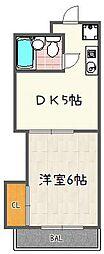 マインツ竹田[305号室]の間取り