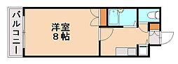 リンデン平尾[3階]の間取り