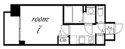 プレサンス金山デュアル[5階]の間取り