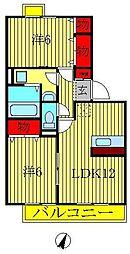 プラムフィールドB棟[1階]の間取り