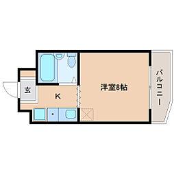 グリーン須磨II[3階]の間取り