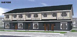 京都府京都市山科区勧修寺仁王堂町の賃貸アパートの外観