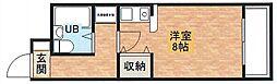ダイアパレス塚本2番館[704号室]の間取り