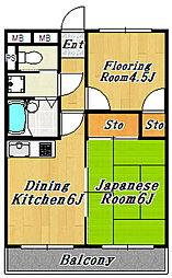 WAKOHマンション56[2階]の間取り
