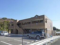 福岡県飯塚市大門の賃貸アパートの外観