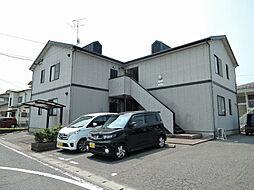福岡県北九州市小倉南区朽網東3丁目の賃貸アパートの外観
