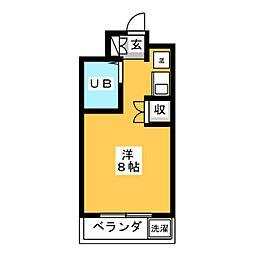 Be Box[2階]の間取り