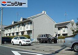 サンハイツ前田A,B[1階]の外観